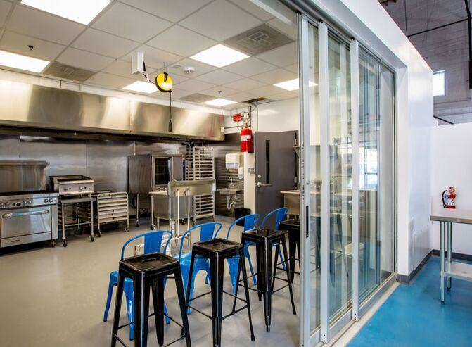 Blue Dogwood Offers A Small Batch Kitchen On Site To Which Includes Able Refrigeration And Freezer E The Has Basic Equipment For